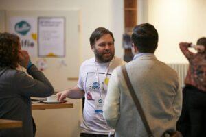 Lars Grasemann im Gespräch bei der hallo.digital Convention