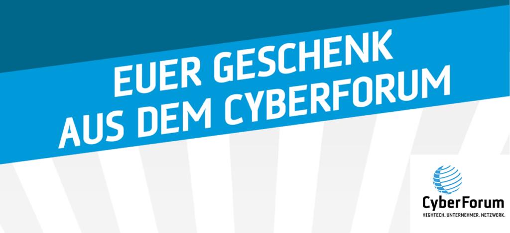 Visual CyberForum Beigabe zu virtuellem Goodiebag der hallo.digital Convention 2021
