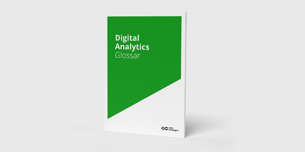 Titelseite des Digital Analytics Glossars