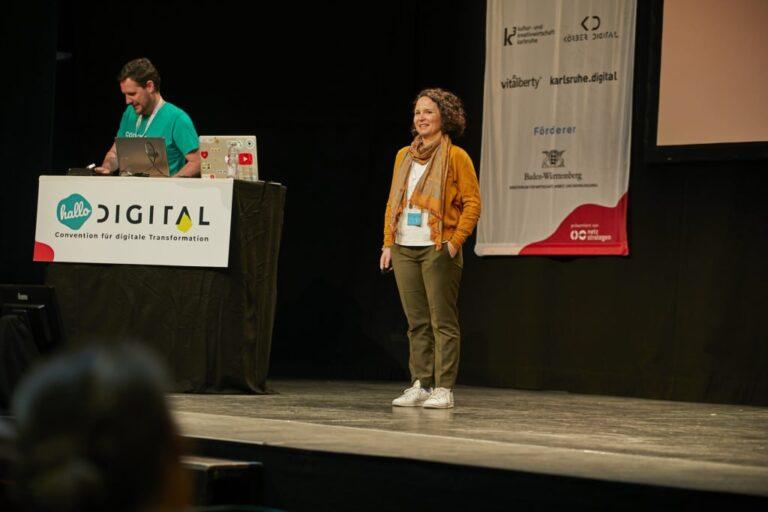 Halide Ebcinoglu Speakerin hallo digital 2019