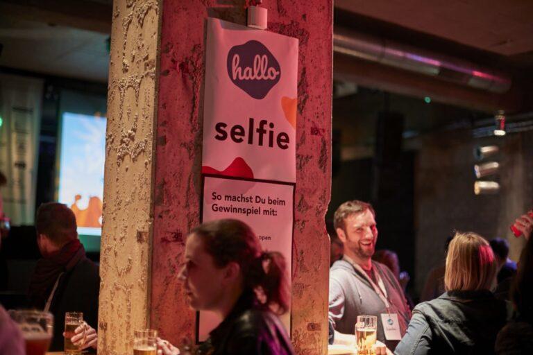 Selfie Ecke Substage hallo digital 2019