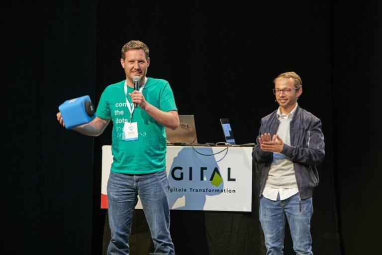 Speaker Fragerunde hallo digital 2019