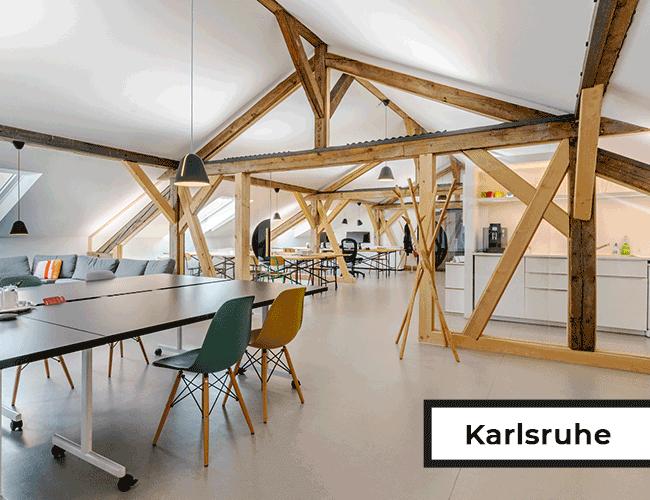 Seminararea im Karlsruher Büro