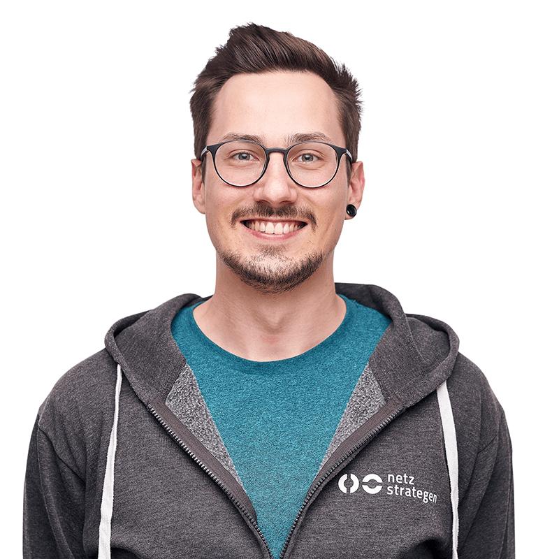 Profilfoto von Daniel Schmidt, Tracking-Experte von den netzstrategen undSpeaker der hallo.digital Convention 2021