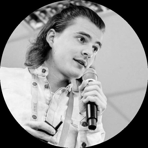 Portraitfoto von Malte Steiert, Speaker bei der hallo.digital 2018