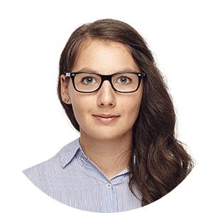 Rundes Portrait der Trainerin Anna Gienger von den netzstrategen
