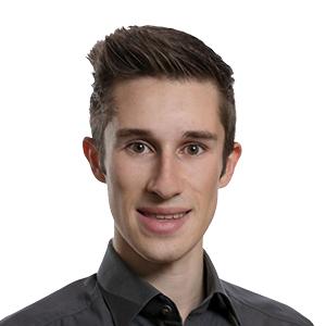 Rundes Portrait von Google-Ads Profi Jonas Neumann von den Marketing Monsters