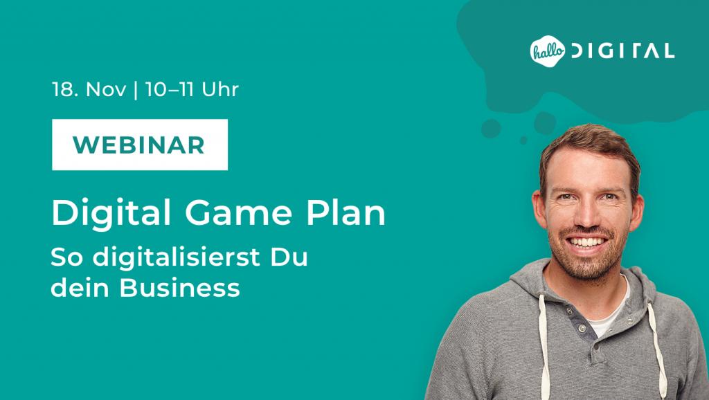 Titelbild-Webinar-Digital-Game-Plan-mit-Portrait-von-Andre-Hellmann
